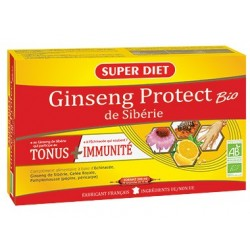 Ginseng Protect - Ampoules 15ml - SuperDiet