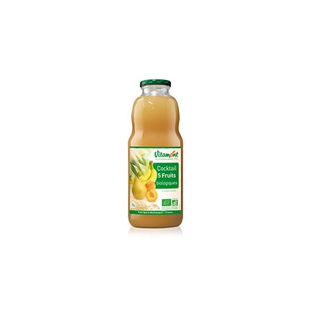 Cocktail 5 Fruits Bio 1L-Vitamont