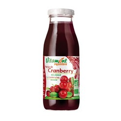 Cocktail Cranberry (Raisin, Pomme) Bio 0.75L-Vitamont