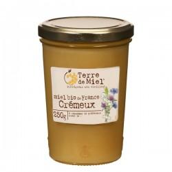 Miel Bio de France Crémeux - 250g - Terre de Miel