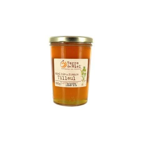 Miel Bio de France Tilleuil - 500g - Terre de Miel