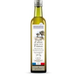 Huile d'olive vierge extra France Bio - 0.5L - Bio Planète
