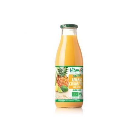 Cocktail Ananas Citron Vert Bio 0.75L-Vitamont