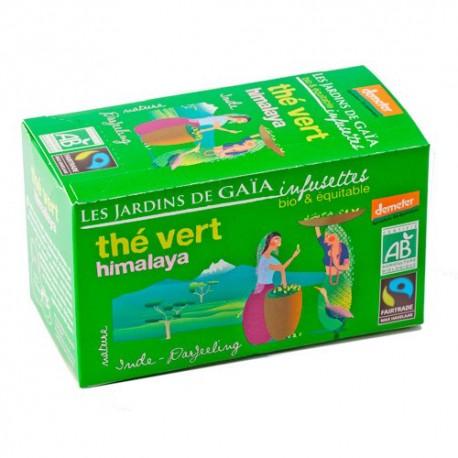 Thé Vert Himalaya, Infusettes Bio 32g-Les Jardins de Gaia