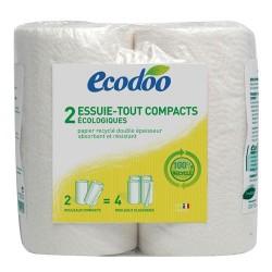 2 Essuie-Tout compacts écologiques - Ecodoo