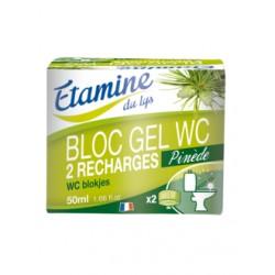 Bloc Gel WC Pinède (2 recharges) - Etamine du Lys