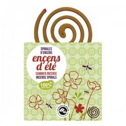 Spirales Encens d'été - Aromandise - 10 Spirales
