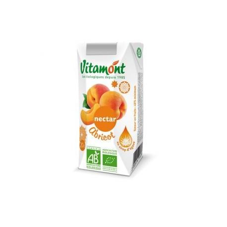 Nectar d'Abricots Bio Tétra Pak 6x0.20L-Vitamont