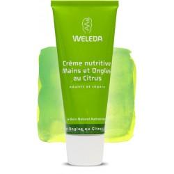 Crème Nutritive Mains et Ongles au Citrus - 50ml - Weleda