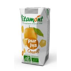 Jus d'Orange Bio Tétra Pak 6x0.20L-Vitamont