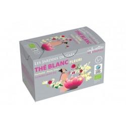 Thé Blanc Fleuri 20 Infusettes-Les Jardins de Gaia