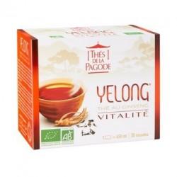 Yelong Thé au Ginseng - Thés de la Pagode - 30 Infusettes