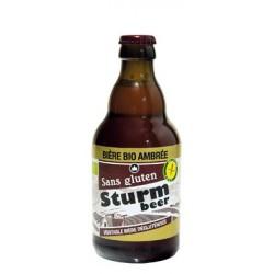 Sturm Bière Bio Ambrée sans Gluten - 33cl - Sturmfrance