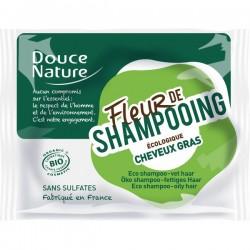 Fleur de Shampooing Cheveux Gras 85g-Douce Nature