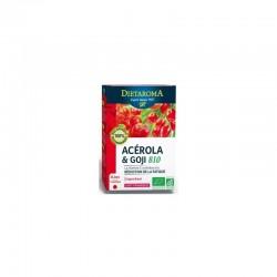 Acérola et Goji Bio - 24 Comprimés -  DIETAROMA