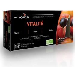 Vitalité - 20 Ampoules - Diet Horizon