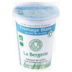 Fromage Blanc au lait de Brebis - 400g - La Bergerie