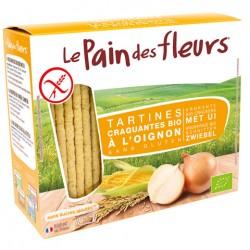 Tartines Craquantes Bio à l'Oignon 150g-Le Pain des Fleurs