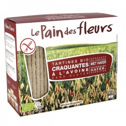 Tartines Craquantes Bio à l'Avoine 150g-Le Pain des Fleurs