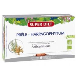 Prêle et Harpagophytum - 20 Ampoules de 15ml - SuperDiet