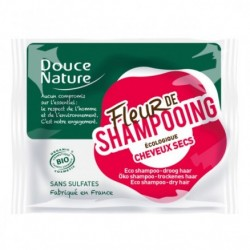 Fleur de Shampooing Cheveux Secs 85g-Douce Nature