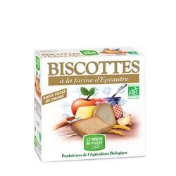 Biscottes Bio à la Farine d'Epeautre 270g-Le Moulin du Pivert
