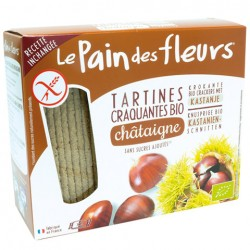 Tartines Craquantes Bio Châtaignes 300g-Le Pain des Fleurs