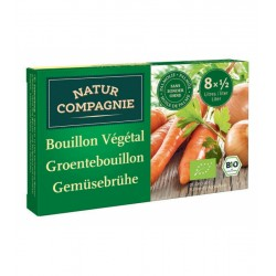 Bouillon Végétal en cube 84g-Natur Compagnie