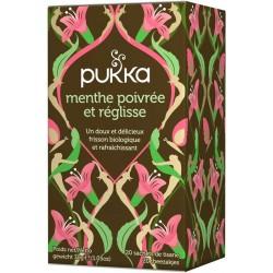 Menthe Poivrée et Réglisse - 20 sachets -Pukka