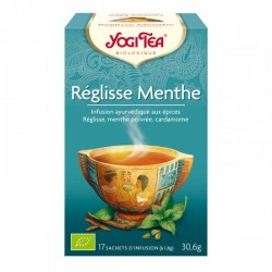 Réglisse Menthe - 17 infusettes - Yogi Tea