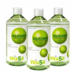 Silicium Organique Bio Activé - Pack de 3 - Vitasil