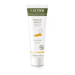 Masque Argile Jaune -100ml - CATTIER