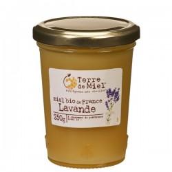 Miel Bio de France Lavande - 250g - Terre de Miel