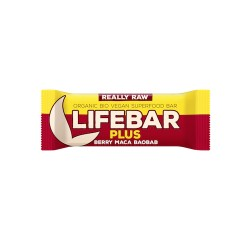 Lifebar Plus Maca et Baobab - 47g - Lifefood