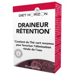 Draineur Retention - 60 Comprimés - Diet Horizon
