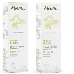 Huile de Ricin Bio - Pack Duo 2 x 50ml - Melvita