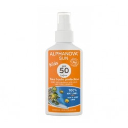 Spray Solaire Bio Kids 50+ - 125g - Alphanova Sun