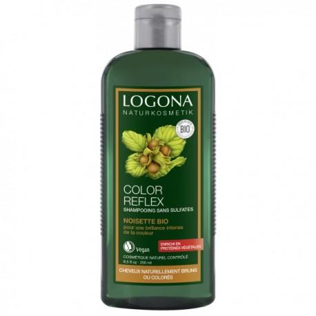 Shampooing Reflets Noisette 250mL-LOGONA