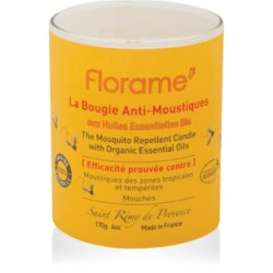 Bougie Anti-Moustiques - 170g - Florame