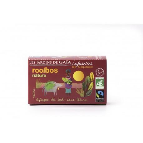 Rooibos Nature, Infusettes Bio 30g-Les Jardins de Gaia