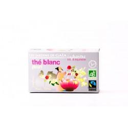Thé Blanc Fleuri, Infusettes Bio 30g-Les Jardins de Gaia