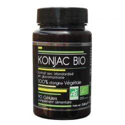 Konjac Bio 100% d'origine végétale - 90 Gélules - Abiocom