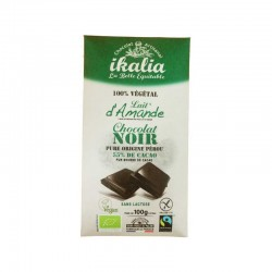 Chocolat Noir 55% Cacao 100% Végétal - 100g - Ikalia