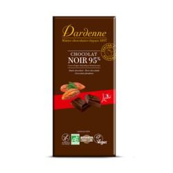 Chocolat Noir 95% Cacao - 90g - Dardenne