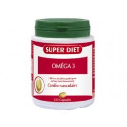 Oméga 3 - 120 Capsules - SuperDiet