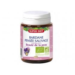 Bardane - Pensée Sauvage Bio - 80 Comprimés - SuperDiet