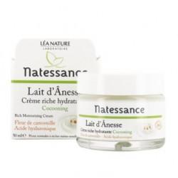 Crème riche hydratante Lait d'Anesse - 50ml - Natessance