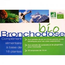 Bronchodose Bio - 20 ampoules - Nutrition Concept