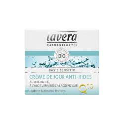 Crème de Jour Anti-Rides Basis Sensitiv - 50mL - Lavera
