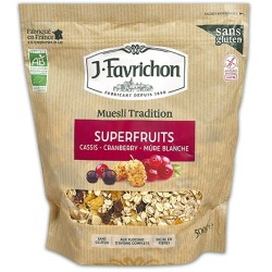 Muesli Tradition Superfruits 400g-Joseph Favrichon